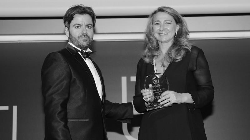 avvocato chiara padovani ritira il premio le fonti 2017 come avvocato dell'anno diritto penale
